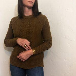 JCrew Pointelle Sweater
